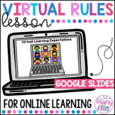 Virtual Classroom Rules and Expectations Sort   Distance Learning