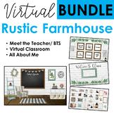Virtual Classroom BUNDLE Rustic Farmhouse