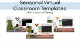 Virtual Classroom: Seasonal (Editable)