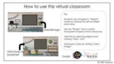 Virtual Classroom Template for Online Learning - Bitmoji