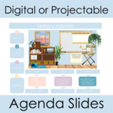 Virtual Classroom Templates for Distance or Live Daily Agenda