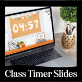 Virtual Classroom Timers via Google Slides for Distance Le