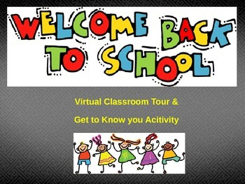 Blackboard Collaborate Virtual Classroom Tour and Get to Know You Activity