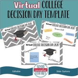 Virtual College Decision Day PowerPoint -- Editable