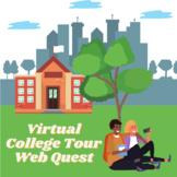 Virtual College Tour Webquest (College/University Research)