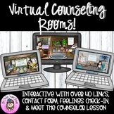 Virtual Counseling Office, Classroom, and Calming Corner I