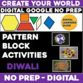 Virtual DIWALI Digital NO PREP Google Slides - Pattern Blo