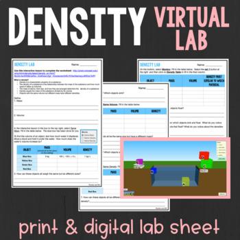 Virtual Density Lab