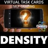 Virtual Density Task Cards (Distance Learning & Self-Grading)
