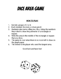 Virtual Dice - Area Game