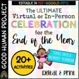 Virtual End of the Year Class Party Activities|Memory| Remote&In-Person|Google