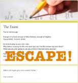 Virtual Escape Room (Exam Themed Template)
