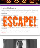 Virtual Escape Room (Halloween Themed Template)