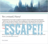 Virtual Escape Room (Harry Potter Themed Template)