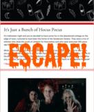 Virtual Escape Room (Hocus Pocus Themed Template)