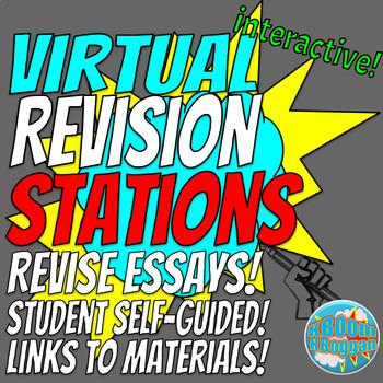 Virtual Essay Revision Stations