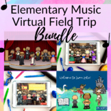 Virtual Field Trip BUNDLE for Elementary Music Class