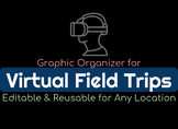 Virtual Field Trip Graphic Organizer - Editable