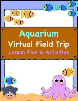 Aquarium Virtual Field Trip Lesson Plans & Printable Activities- Aquarium