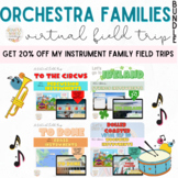 Virtual Field Trip Orchestra Families Distance Learning Ac