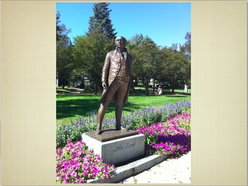 Virtual Field Trip QT Slideshow to Quincy, Ma: The Adams Presidents
