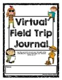 Virtual Field Trip Response Sheets & Journal Cover - Dista