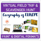 VIRTUAL TRIP & SCAVENGER HUNT (#Google Expeditions): Geography of EUROPE