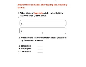 "Virtual Field Trip:  ""Take the Jelly Belly Challenge"""