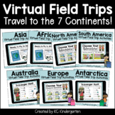 Virtual Field Trip: The 7 Continents Bundle   Distance Learning