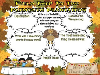 Virtual Field Trip To The First Thanksgiving