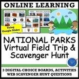 Virtual Field Trip & Web Scavenger Hunt: National Park Dis