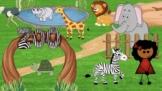 Virtual Google Slides Field Trip - Zoo - EDITABLE