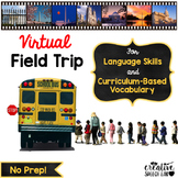 President's Day Virtual Field Trip for Language and Curriculum-Based Vocabulary