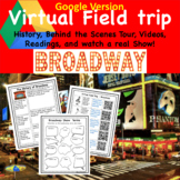 Virtual Field Trip to Broadway for Music Band Choir Class Digital
