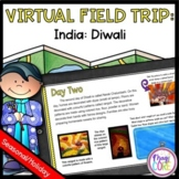 Virtual Field Trip to India for Diwali - Google & Seesaw Distance Learning