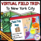 Virtual Field Trip to New York City - Google Slides & Seesaw Distance Learning