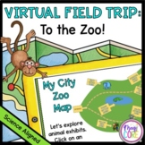 Virtual Field Trip to The Zoo - Google Slides Format for D