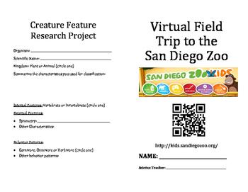 Zoo Virtual Field Trip- The San Diego Zoo