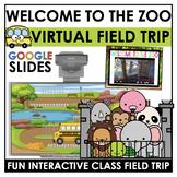 Virtual Field Trip to the ZOO  Digital FUN FRIDAY Zoo Animal Unit - Kindergarten