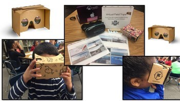 Virtual Field Trips Google Cardboard GoPro VR 360 QR Codes