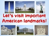 Virtual Field Trip to American National Landmarks (Distance Learning)