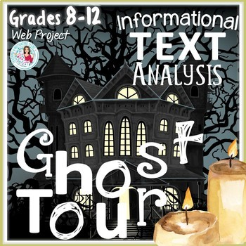 Ghost Tour Engaging ELA Web Research Project Grades 8-12 C