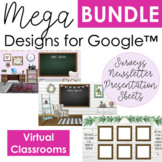 Distance Learning Virtual Designs BUNDLE for Google Apps,