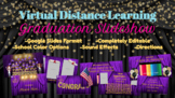 Virtual Graduation Bundle for Distance Learning with Slideshow and Diploma