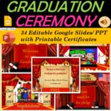Virtual Graduation Certificates & Ceremony| Pre-K, TK, Kindergarten to 5th Grade