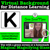 Virtual Green Screen Backgrounds for Articulation - /k/ -