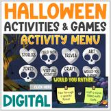 Virtual Halloween Activities   Virtual Halloween Party   D