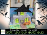 Virtual Halloween Themed Writing activity and craft