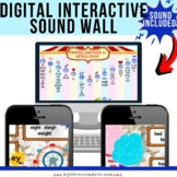 Virtual, Interactive Sound Wall Word Wall  - Distance Lear
