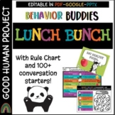 Virtual LUNCH BUNCH for Distance AND In Person Learning |